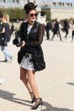Paris Fashion Week Street Style Spring 2013