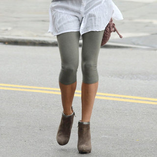 Sarah Jessica Parker Wearing Leggings With Heels