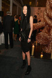Vera Wang attended the Studio in a School's 35th Anniversary Gala at NYC's Seagram Building.