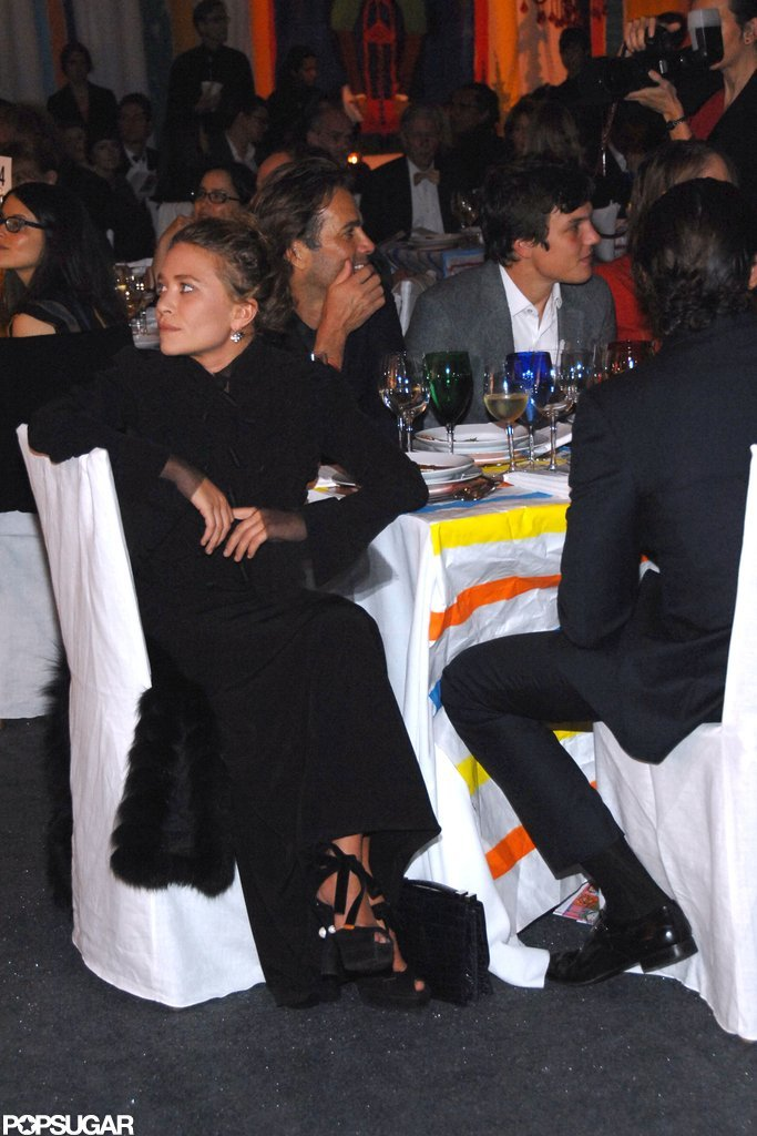 Mary-Kate Olsen attended a gala in NYC.