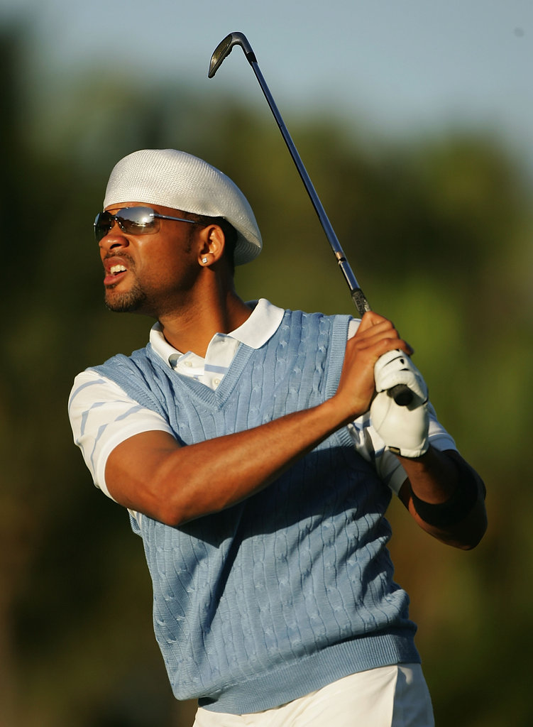 Will Smith checked out his shot at the January 2005 Sony Open in Honolulu, HI.