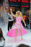 Meredith Vieira performed as Lady Gaga on Today in NYC in 2010.
