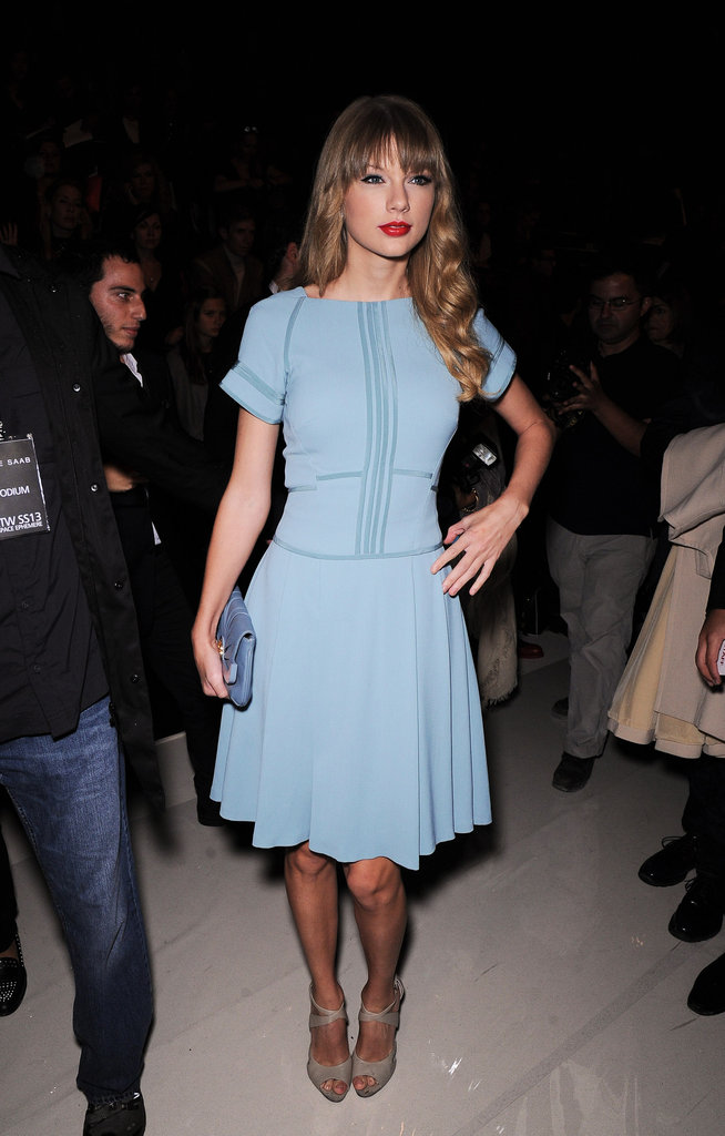 Taylor Swift, Elsa Pataky, & Rachel Zoe Bid Adieu to PFW at Elie Saab