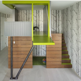 Cool Family Home With Playrooms and Built-In Bunkbeds