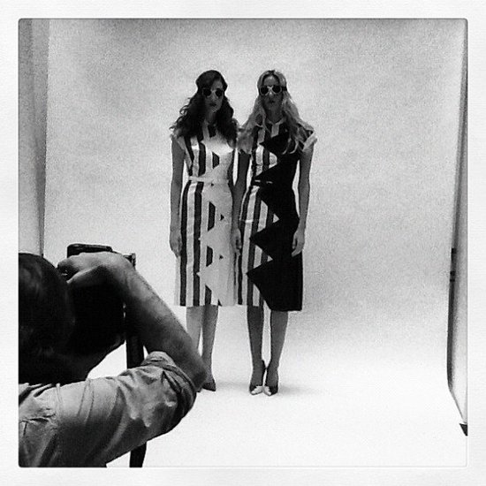 L'Wren Scott Unveils Spring 2013 Collection on Instagram