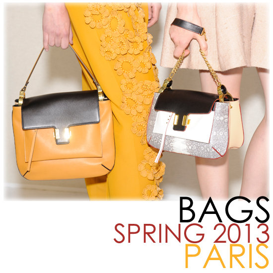Paris Runway Recap: The Best Bags of Spring 2013