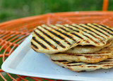 Beginner: Grilled Stuffed Flatbreads