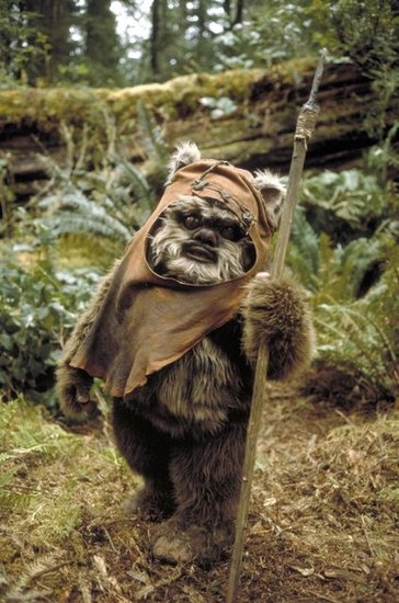 Wicket, the Ewok