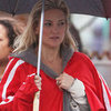 Kate Hudson on the Set of Clear History With Eva Mendes