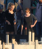 Natalie Portman filmed scenes with Holly Hunter in Austin, TX.