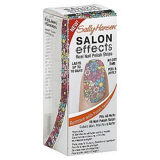 Sally Hansen Salon Effects in Girl Flower ($9)