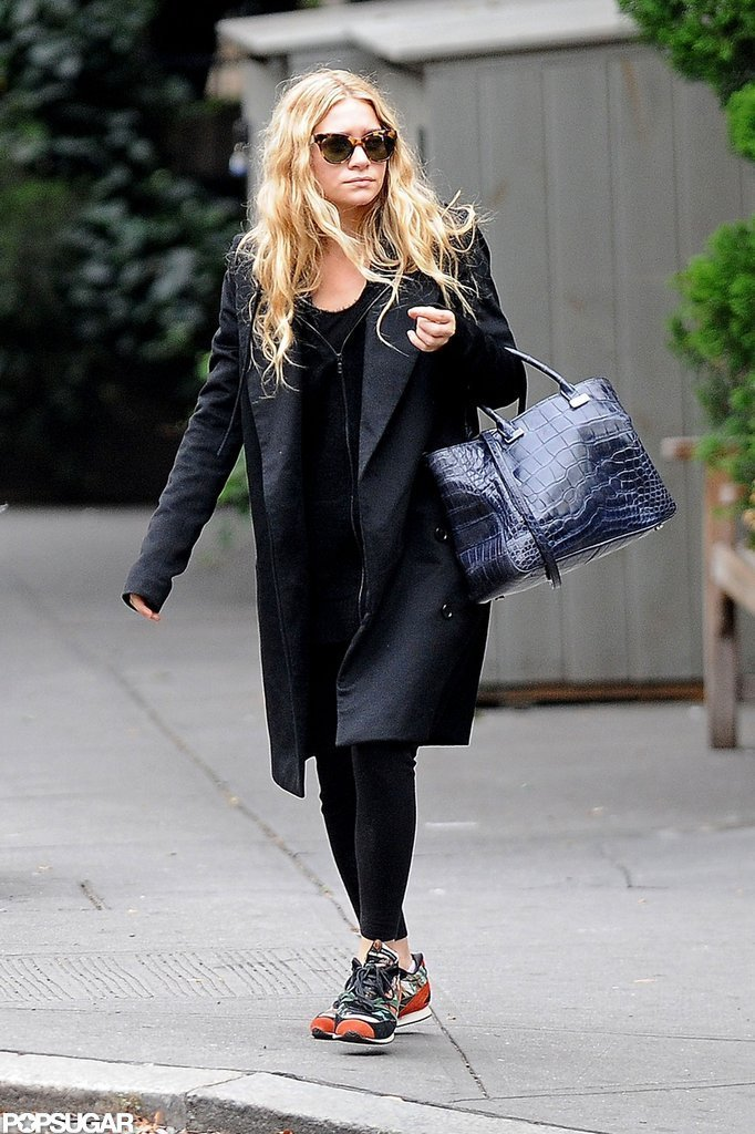 Ashley Olsen took a stroll in SoHo, NY.