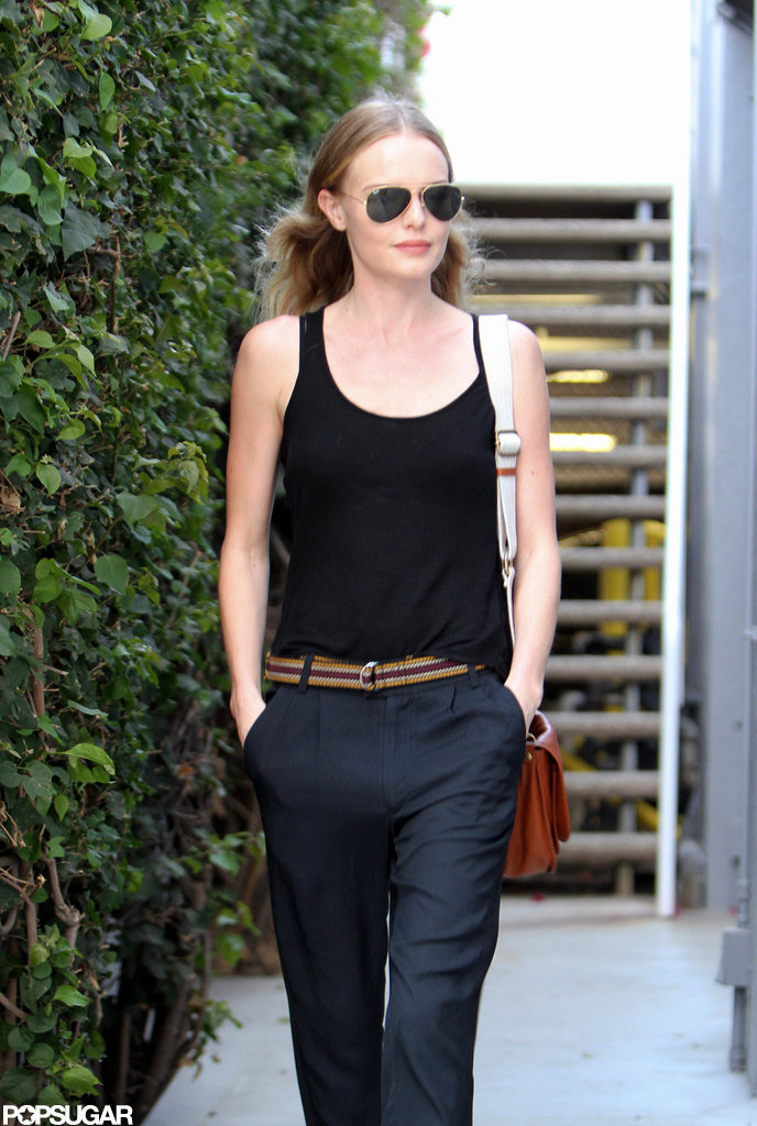 Kate Bosworth took a stroll in LA.