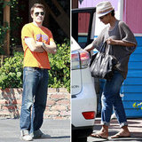 Halle Berry and Olivier Martinez Grab a Hot Lunch in LA