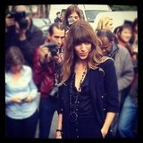 Lou Doillon pulled off effortless beauty at Chanel.