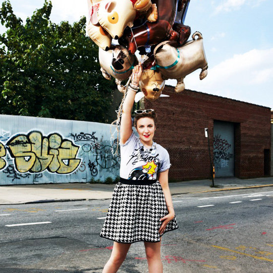 We loved Girls star Lena Dunham's ASOS magazine spread.