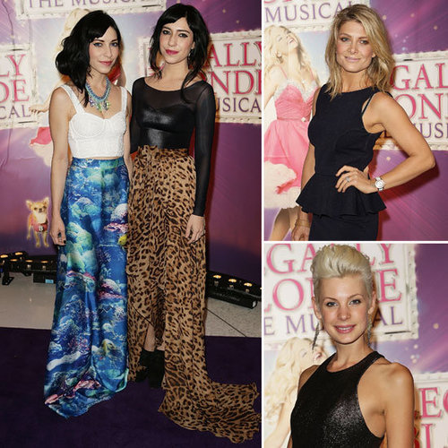 Pictures of Celebrities at the Legally Blonde The Musical Premiere in Sydney: The Veronicas, Natalie Bassingthwaighte + more!