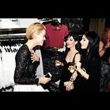 Ruby Rose and The Veronicas hung out at Sydney's Topshop opening. Source: Instagram user rubyrose86