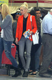 Gwen Stefani went shopping in LA.