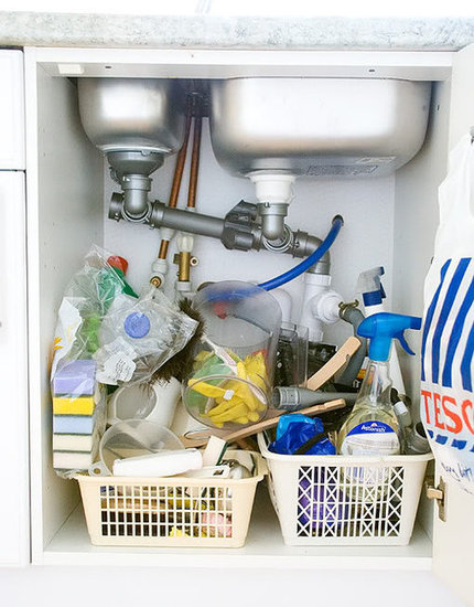 The Under-the-Sink Clutter Buster