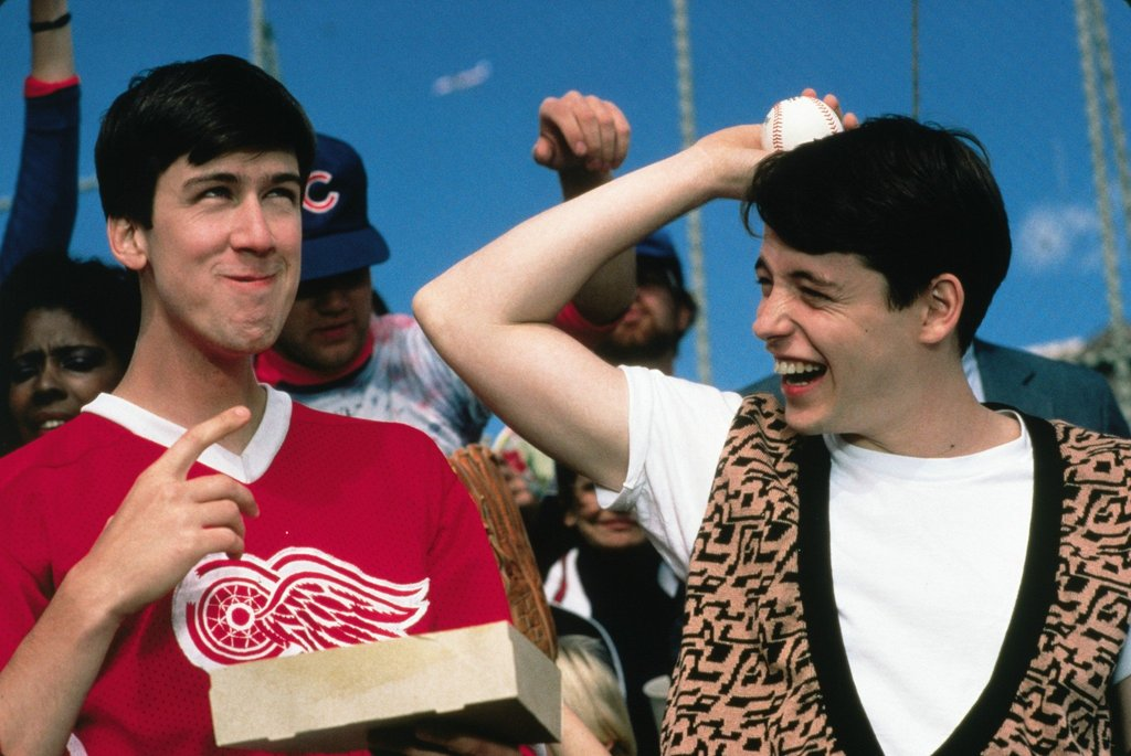 Cameron and Ferris From Ferris Bueller's Day Off