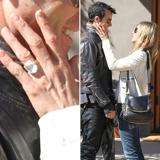 See Jennifer Aniston's Huge Engagement Ring!