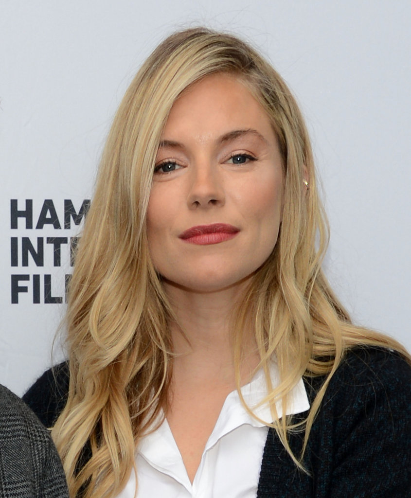 Sienna Miller posed at the Hamptons International Film Festival brunch in East Hampton.