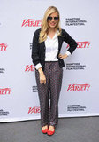 Sienna Miller posed for photos before the Variety Performers brunch in East Hampton.
