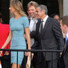 George Clooney and Stacy Keibler at Obama Event | Pictures