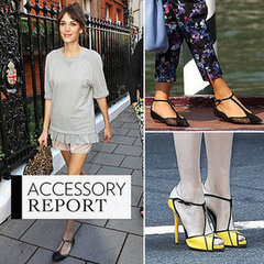 Celebrity Photo Editing on Celebrity Shoe Trend  T Bar Heels  Wedges And Sandals Are The Best New