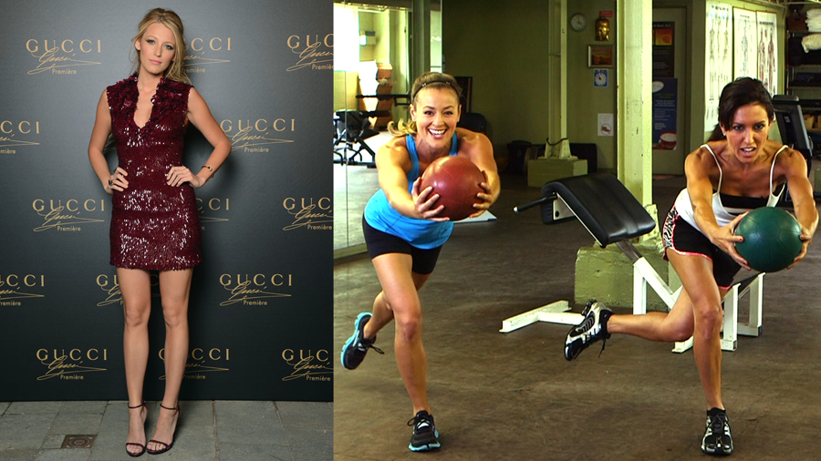 Find Out How Blake Lively Gets Those Long, Lean Legs!