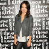 Olivia Wilde Wearing Gray Leather Jacket