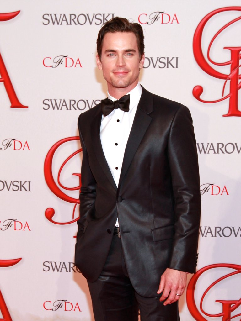 Matt Bomer stepped out in a tuxedo for the June 2012 CFDA Fashion Awards in NYC.
