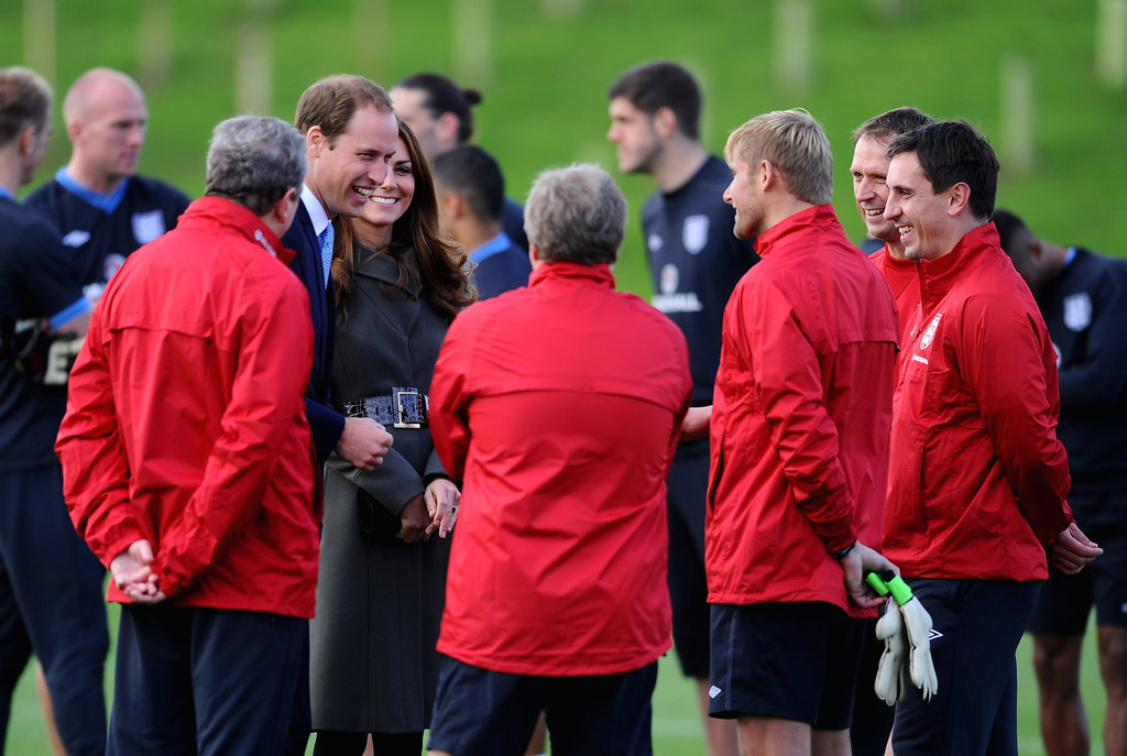 Kate Middleton and Prince William traveled to Burton upon Trent, England.