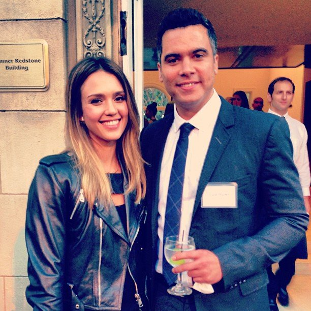Jessica Alba and Cash Warren attended an event for Bill Clinton together. Source: Instagram user cash_warren