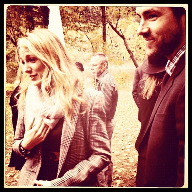 Blake Lively and Ryan Reynolds attended Amber Tamblyn's wedding.  Source: Instagram user Questlove
