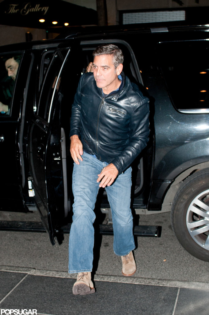 George Clooney went to Il Mulino for dinner in NYC.
