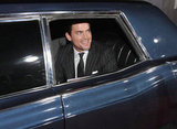 Matt Bomer arrived in style to the October 2011 LA premiere of In Time.