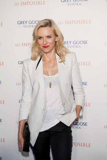 Naomi Watts Doubles Up on Chic Ensembles in Madrid