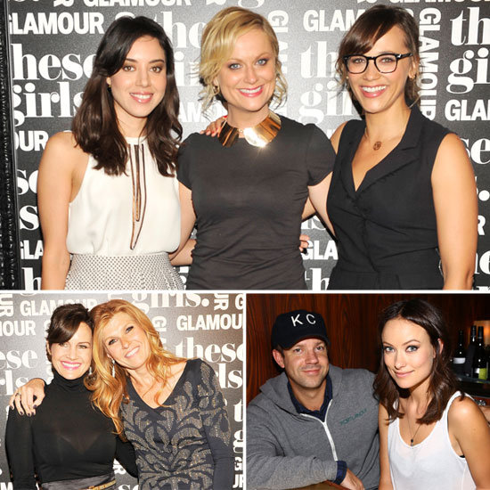 Olivia and Jason Join Funny Girls Amy & Rashida For a Glamorous Night