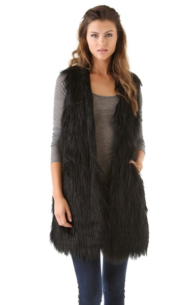 Pair this BB Dakota Roxanne Vest ($108) with leather leggings for a tough rock 'n' roll look.