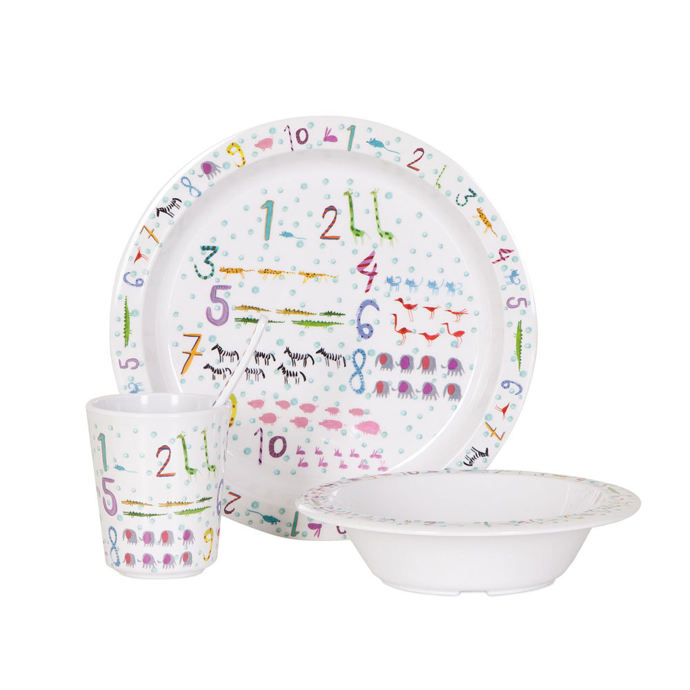 Numbers Dinnerware