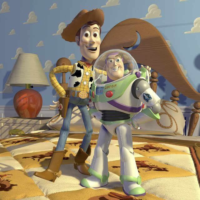 Woody and Buzz Lightyear From Toy Story