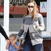 Jennifer Garner and Seraphina Affleck Get Coffee in LA