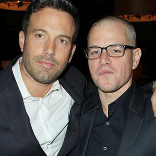 Ben Affleck and Matt Damon at the Premiere of Argo