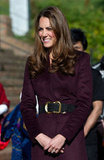 Kate Middleton toured Newcastle upon Tyne.