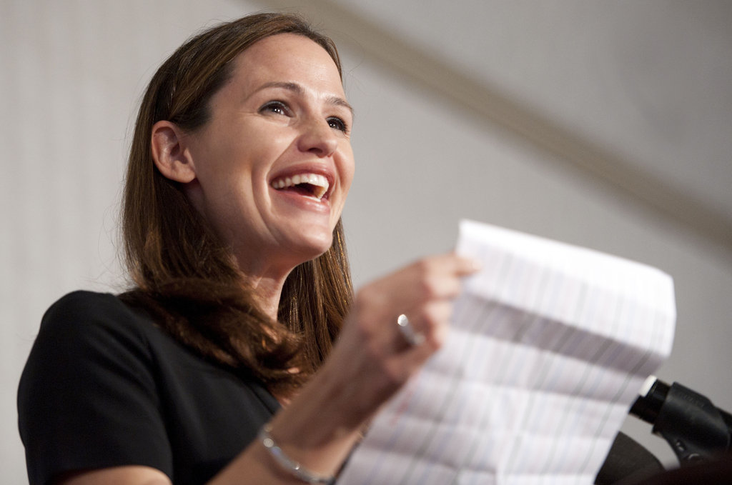 Jennifer Garner addressed the audience on hand.
