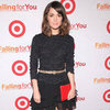 Rose Byrne Wearing Black Ruffled Skirt