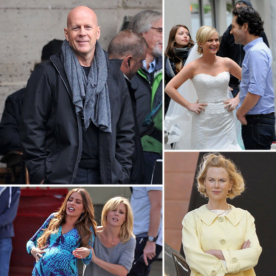 Nicole Kidman, Bruce Willis, Sofia Vergara, and More Stars on Set!