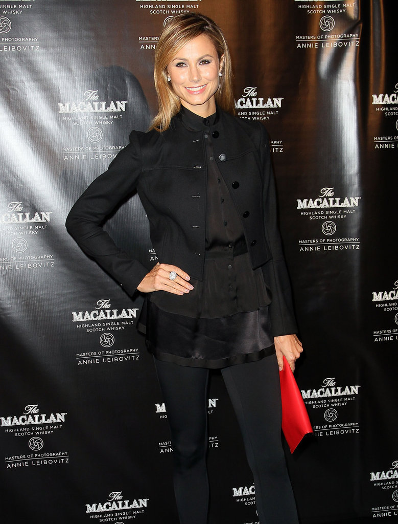 Stacy Keibler attended the launch at the Bowery Hotel in NYC.